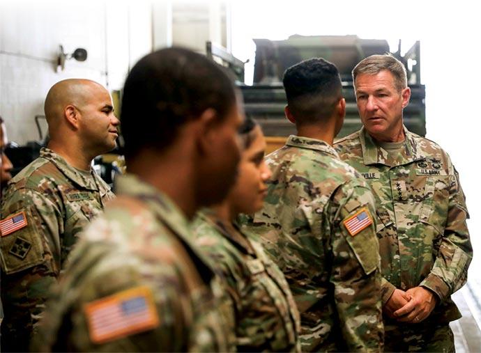 Chaplain (Maj.) John McDougall, U.S. Army