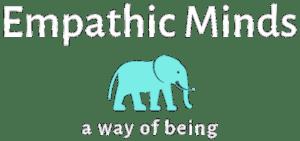 Empathic Minds Logo PNG White
